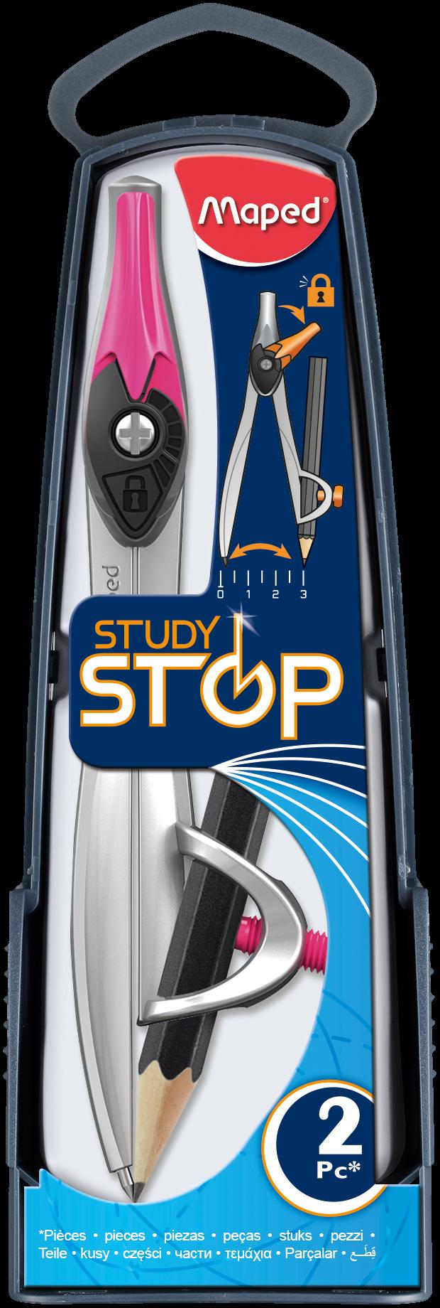 Циркуль Study Stop сдержателем