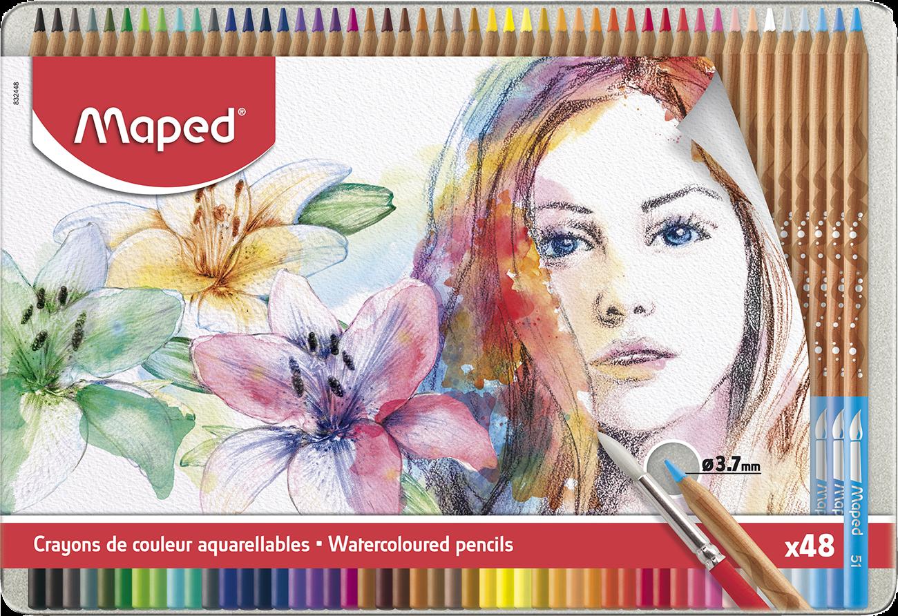 Акварельные карандаши Artist, 48 шт.