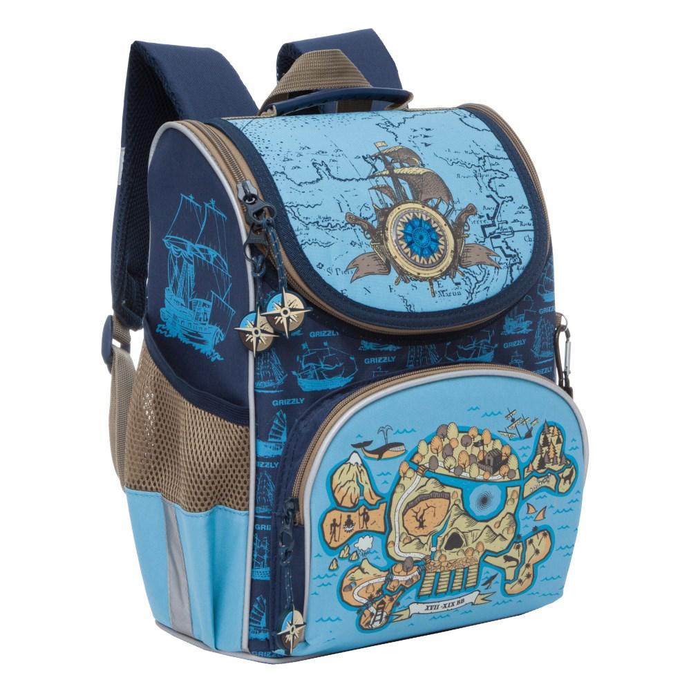 RA-872-1 Рюкзак школьный с мешком