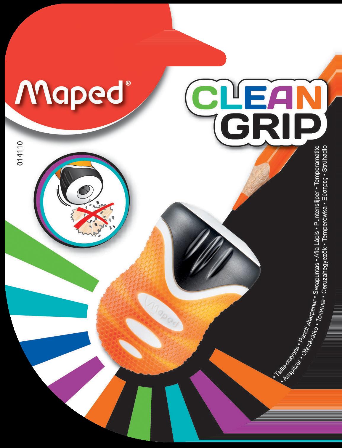 Точилка для карандашей Ingenious Clean Grip – 1 отверстие