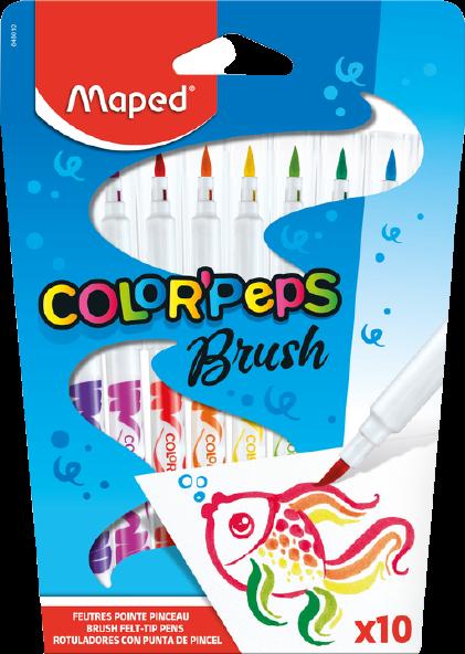 Фломастеры-кисти ColorPeps Brush
