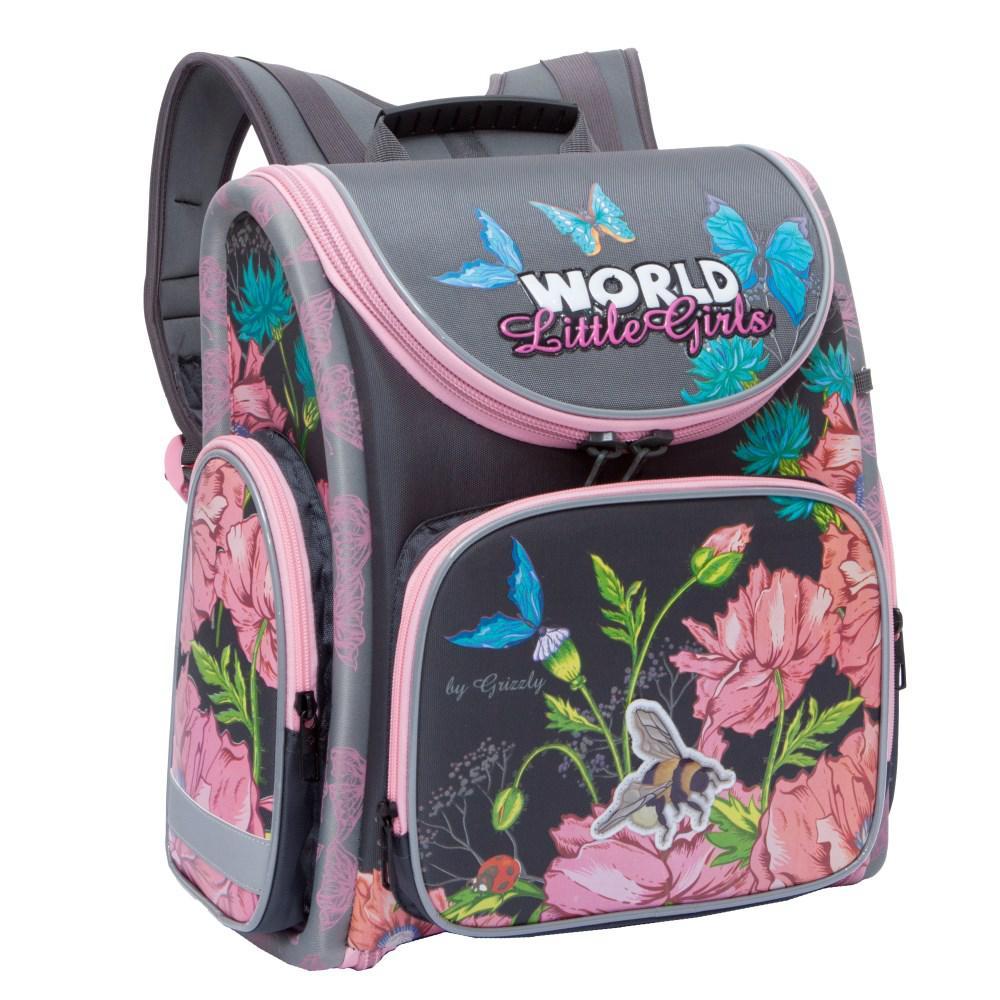 RA-871-7 Рюкзак школьный с мешком