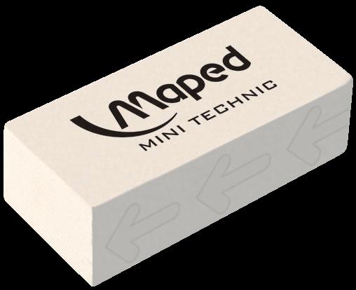 Резинка стирательная Technic Mini