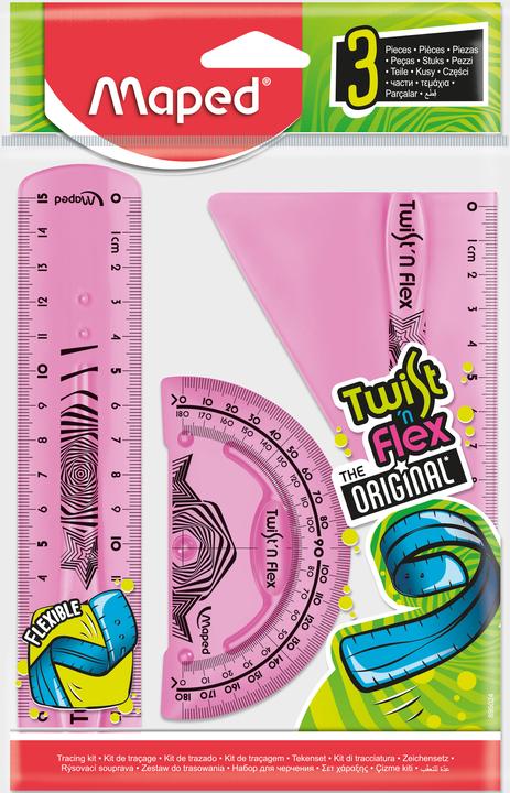 Набор гибких линеек Twist'n Flex,3 предмета