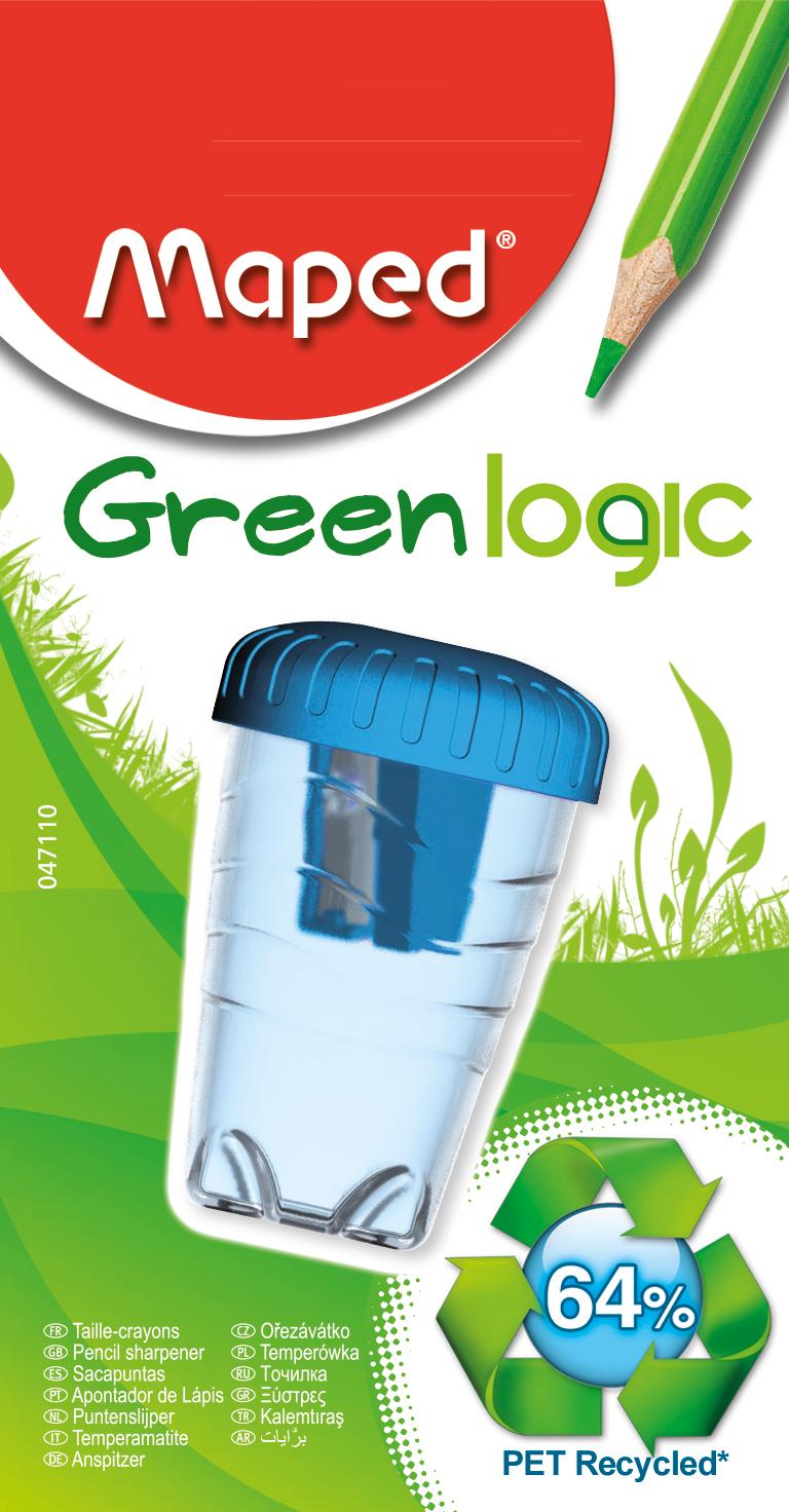 Точилка для карандашей Greenlogic – 1 отверстие
