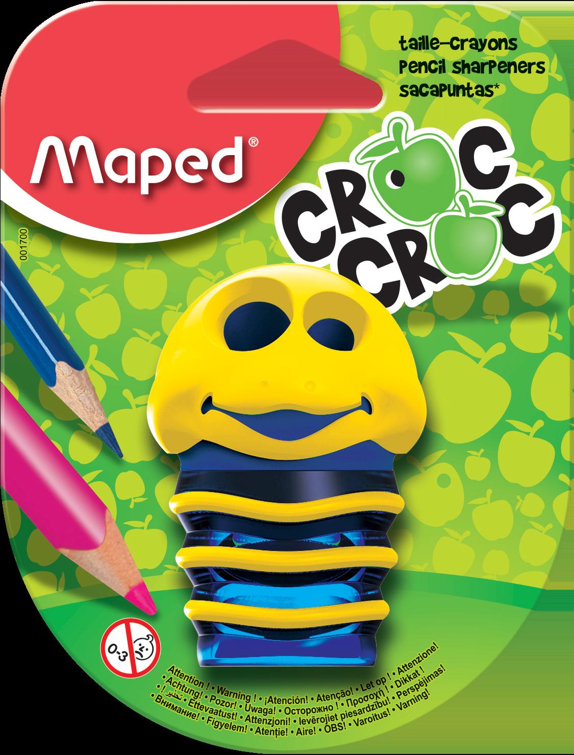 Точилка для карандашей Croc Croc – 2 отверстия