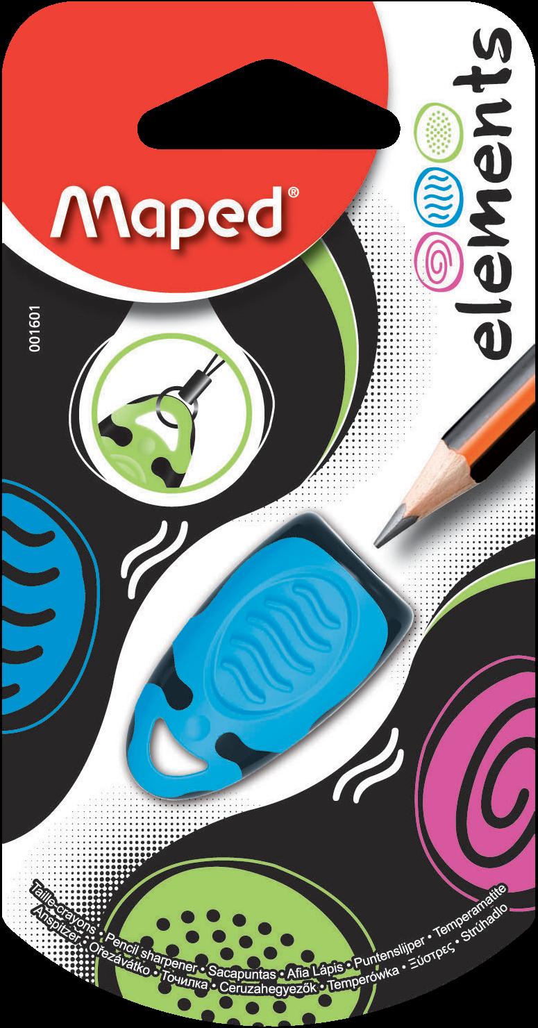 Точилка для карандашей Elements – 1 отверстие