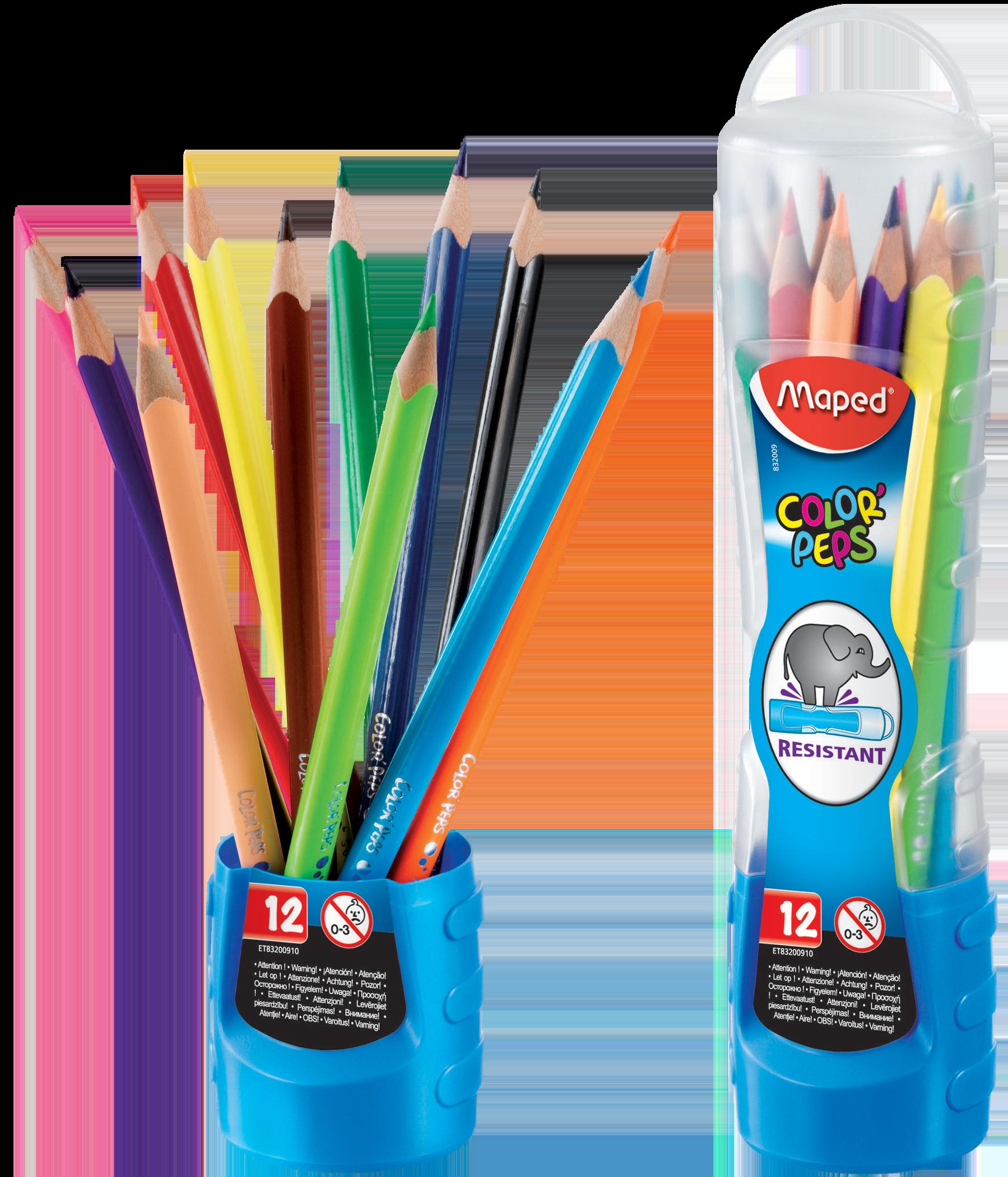 Цветные карандаши Color'Peps Classic (пенал-стаканчик)