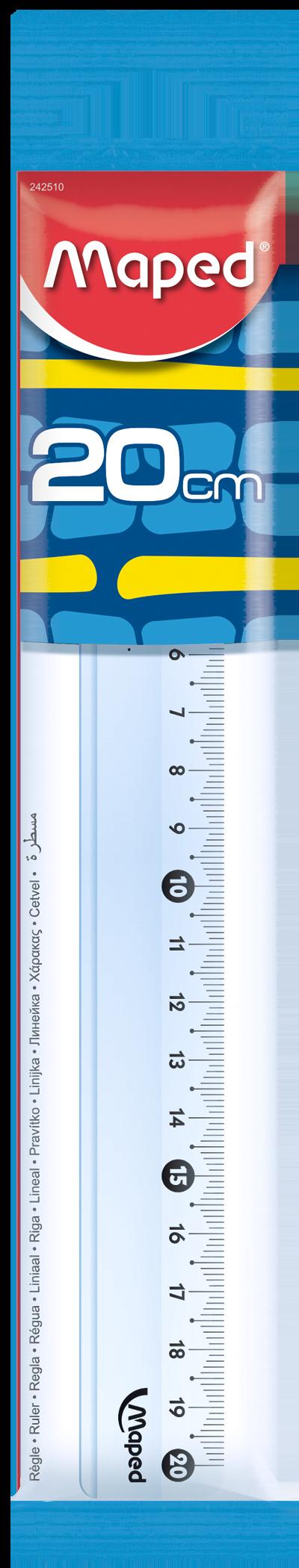 Линейка Essentials 242–20 см