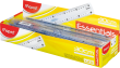 Пластиковый пакет (20 шт.), Прозрачный, 30 см