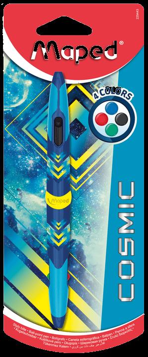Шариковая ручка Twin Tip 4 Cosmic, синяя