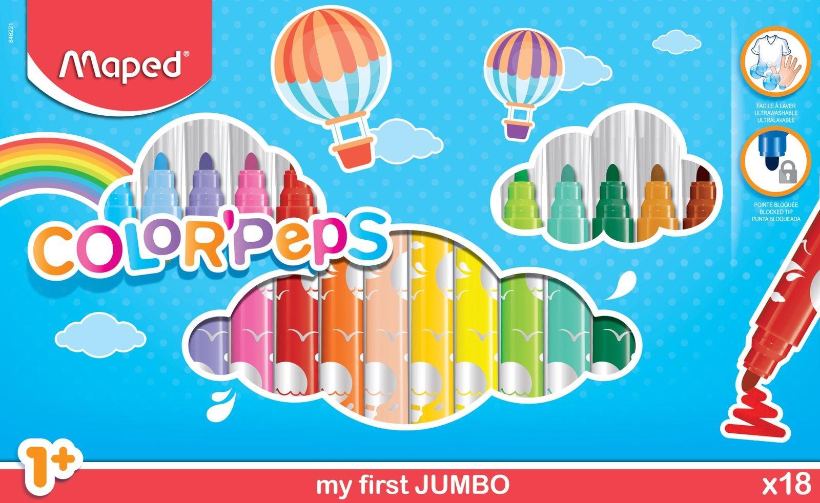 Фломастеры Jumbo
