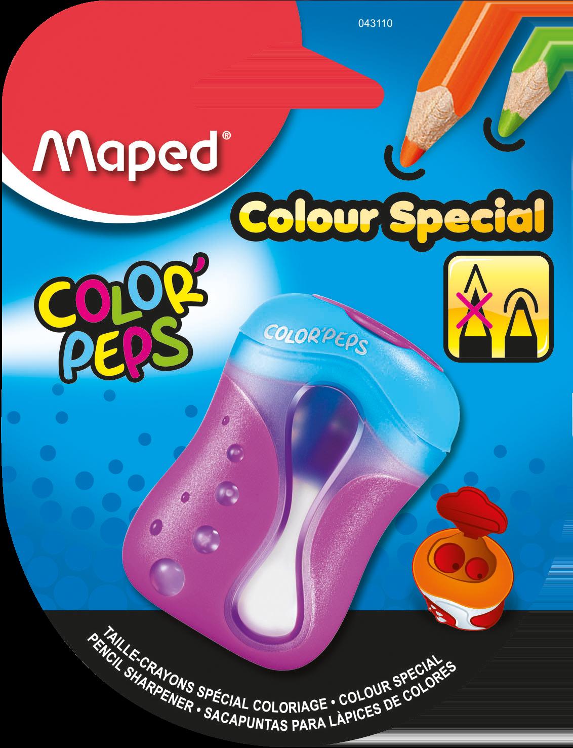 Точилка для карандашей Color'Peps – 2 отверстия