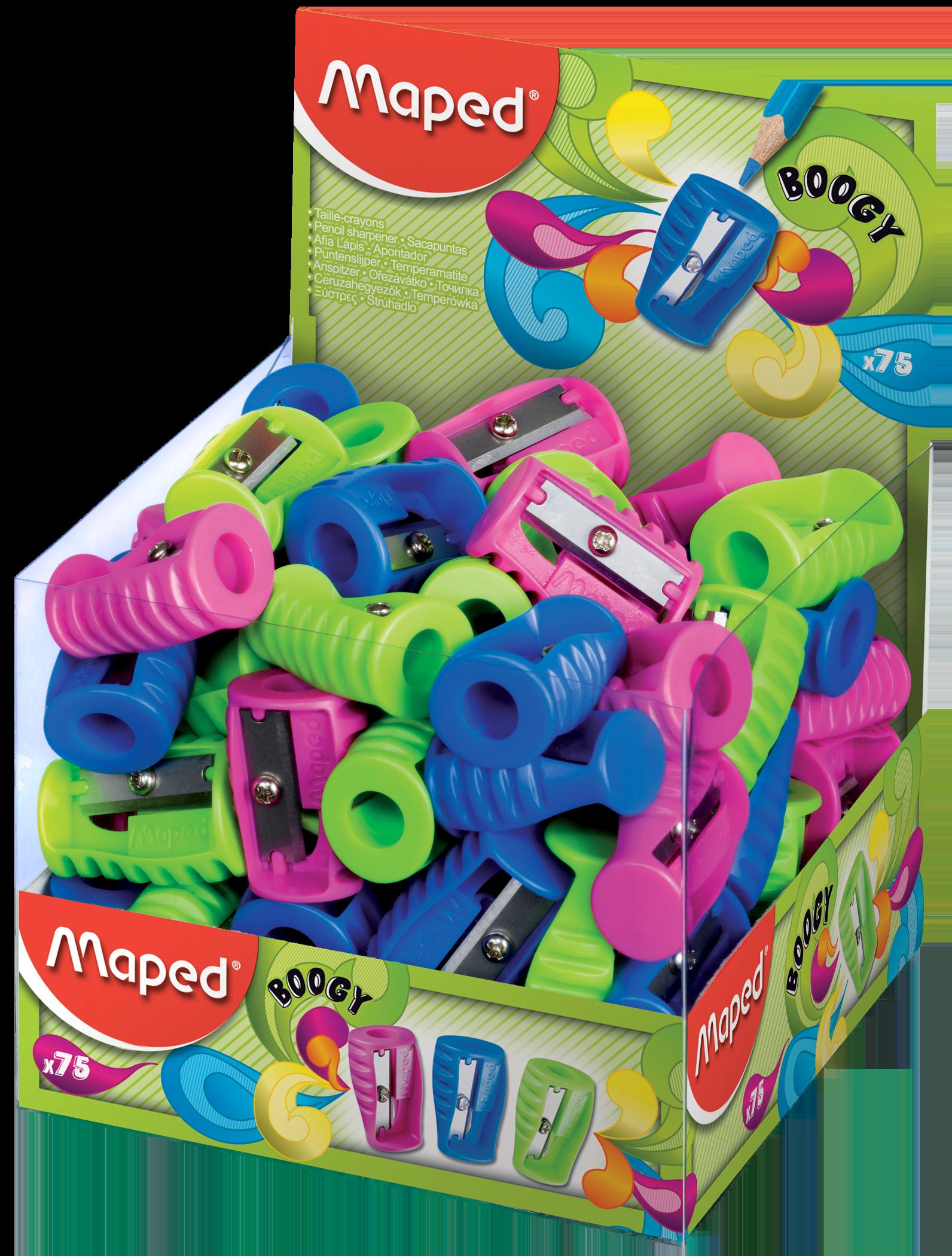 Точилка для карандашей Boogy – 1 отверстие (без контейнера), 75 шт