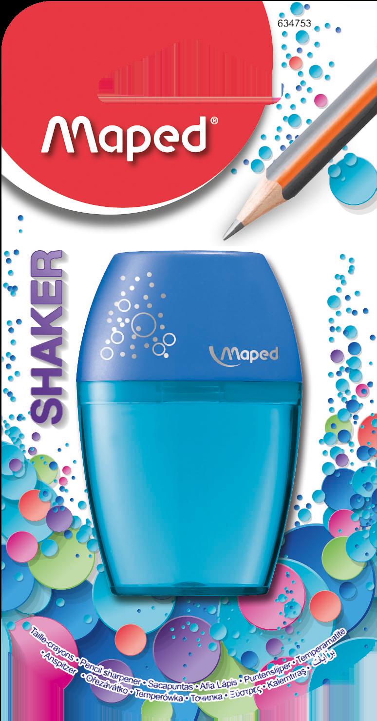 Точилка для карандашей Shaker – 1 отверстие