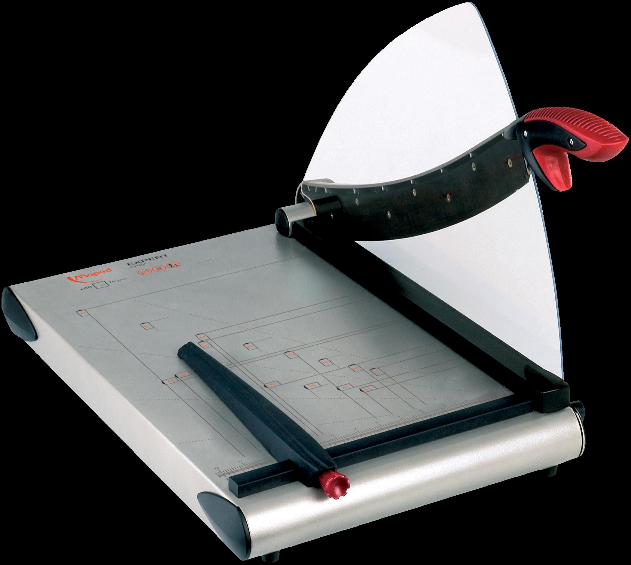 Резак для бумаги Expert Сабельный савтоприжимом