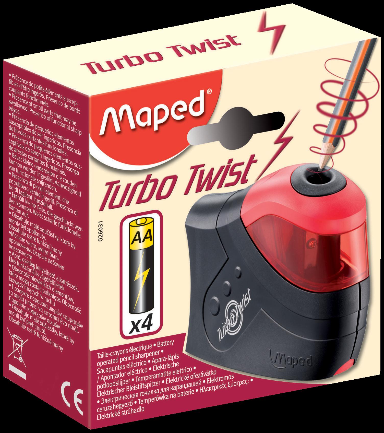 Электрическая точилка Turbo Twist – 1 отверстие
