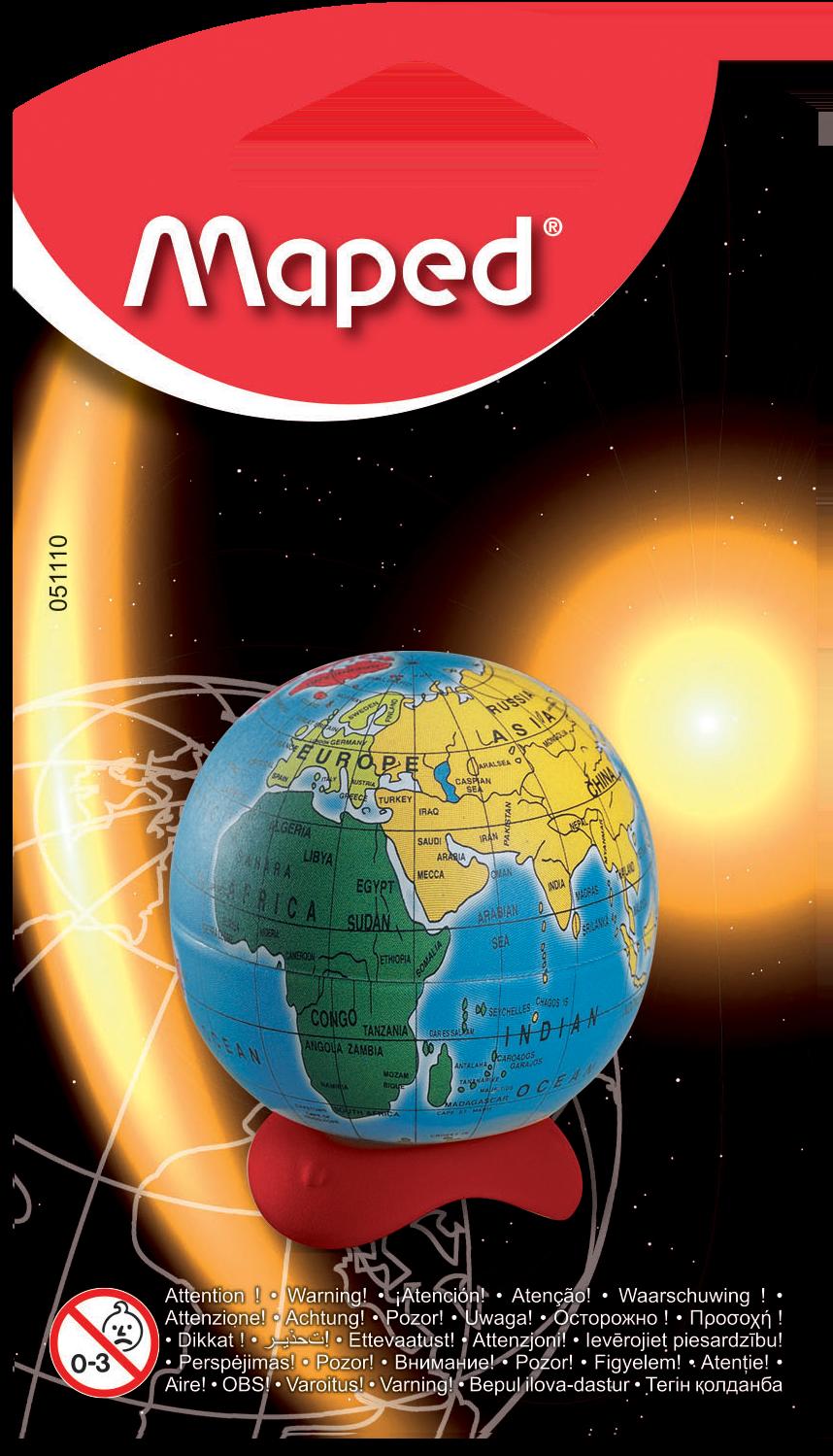 Точилка для карандашей Globe – 1 отверстие