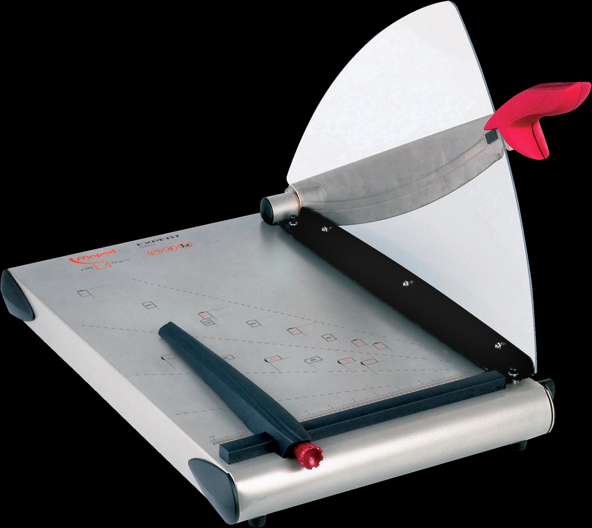 Резак для бумаги Expert Сабельный сручным прижимом